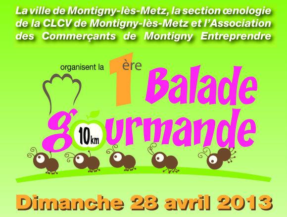 Balade gourmande de Montigny : inscriptions au plus tard le 20 avril