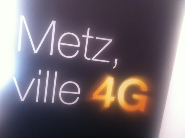 Orange a lancé la 4G à Metz et Nancy – Vidéo