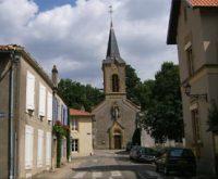 L'église de Sainte-Ruffine.