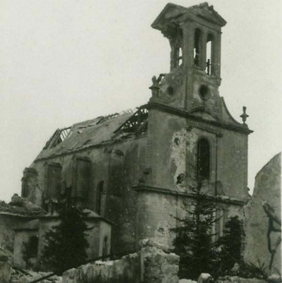 Eglise Saint-Pierre-aux-Liens après guerre