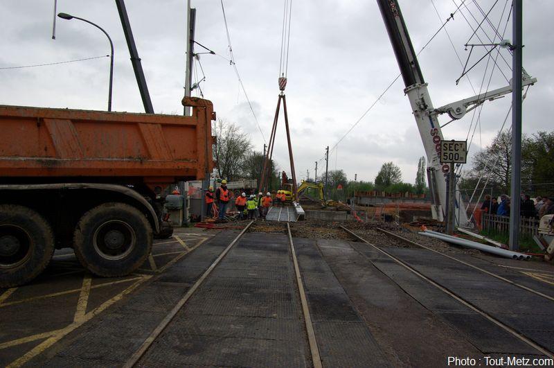 Le passage sous les voies ferrées de la Patrotte est ouvert