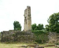 Ruines du prieuré de Châtel-Saint-Germain