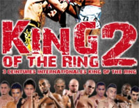 King of the ring II, gala de boxe thaï 2013 à Metz