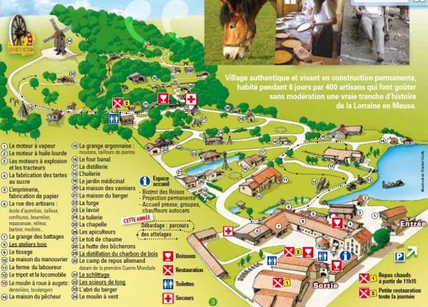 village plan azannes