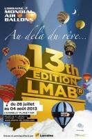 Le Lorraine Mondial Air Ballons 2013 prêt à décoller : programme et nouveautés