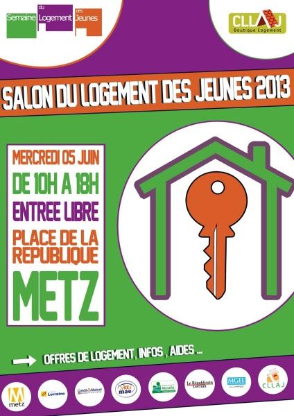 Salon du logement des jeunes metz 2013 for Salon du logement