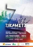 Tremplin Zikametz 2013 : un aperçu des groupes en vidéo