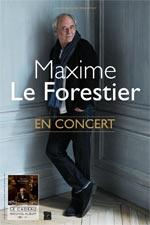 Maxime Le Forestier en concert en Lorraine