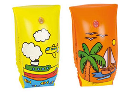 Carrefour rappelle des brassards de natation pour enfant