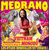 Le Cirque Medrano et sa voiture Transformers en Lorraine (video)