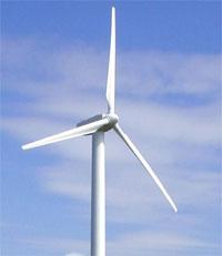 Photo de Une éolienne de 200m de haut face au Château de Malbrouck