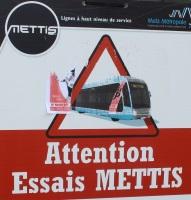 Les marches à blanc Mettis suspendues pour la rentrée des classes