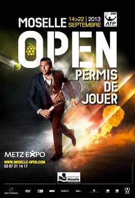 L'affiche de Moselle Open 2013 dévoilée