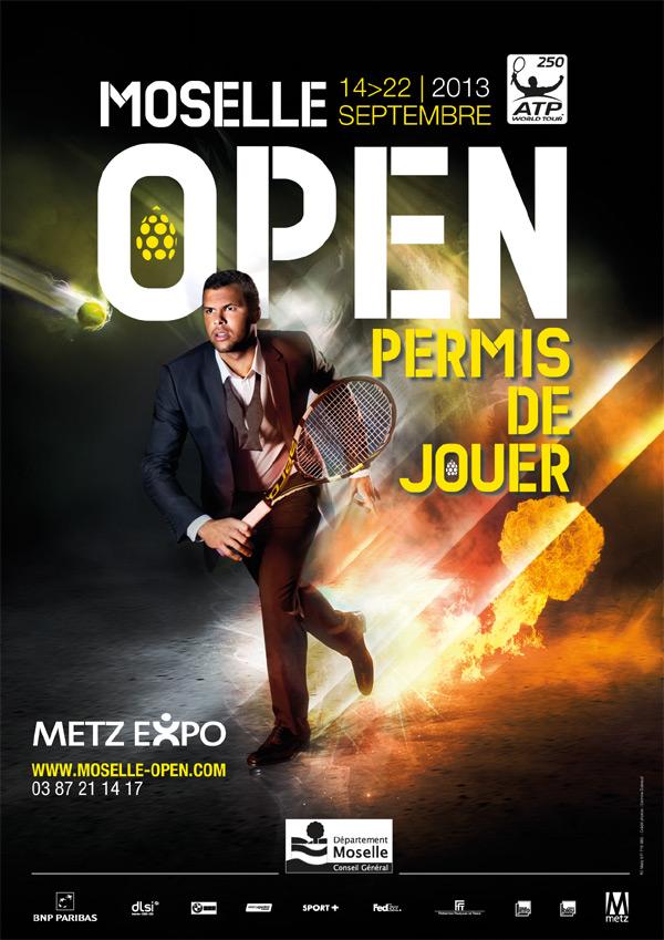 Moselle Open 2014 aura bien lieu en Moselle aux Arènes