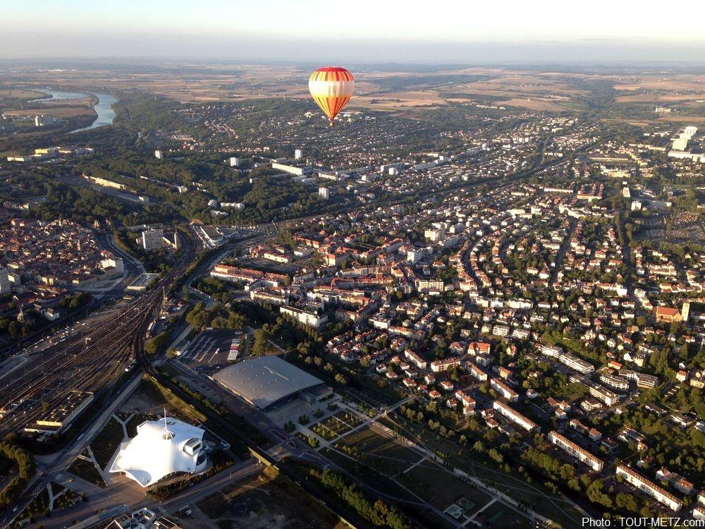 Photo de Metz : J-1 avant les Montgolfiades