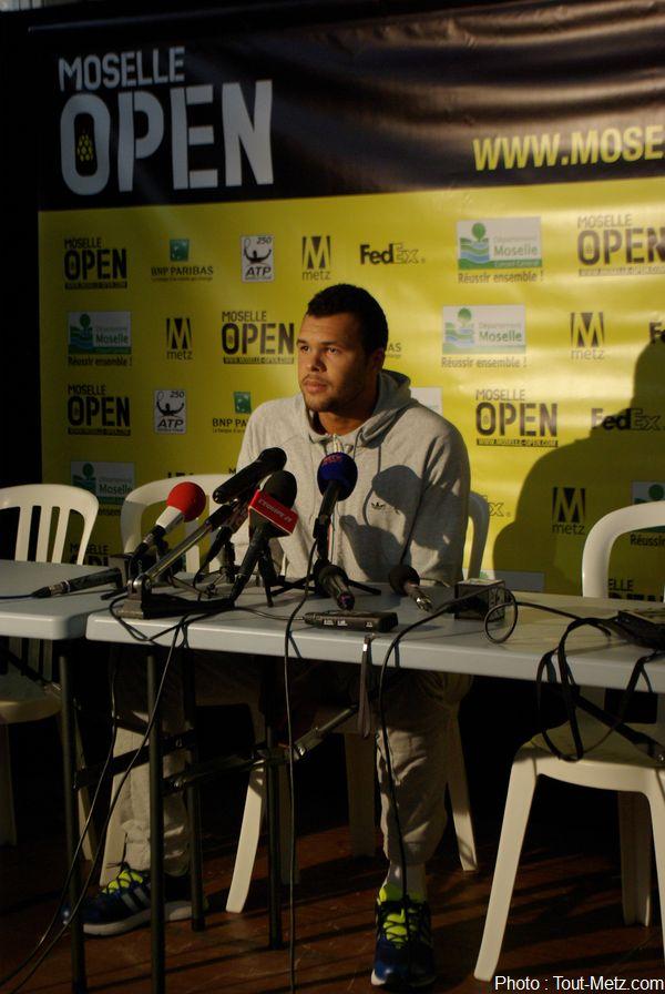 Moselle Open 2013 : Jo-Wilfried Tsonga veut reprendre confiance en son jeu