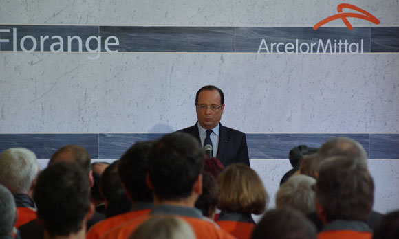 Hollande de retour en Lorraine : chose promise, chose due