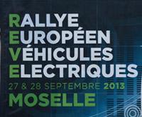 Rallye des véhicules électriques 2013 en Moselle