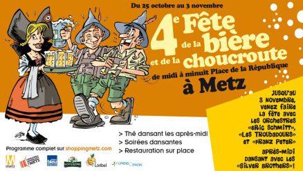 4ème édition de la Fête de la bière et de la choucroute à Metz