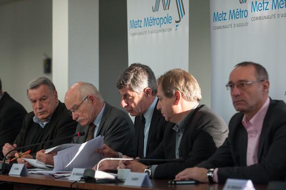 Les élus de tous les bords politiques sont du même avis et partagent les mêmes inquiétudes. Photo : Metz Métropole-David Hourt