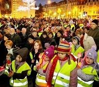 Metz : une marche aux flambeaux pour la bonne cause