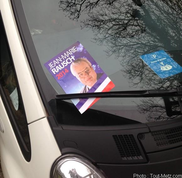 Municipales 2014 à Metz : de faux tracts à l'effigie de Jean-Marie Rausch