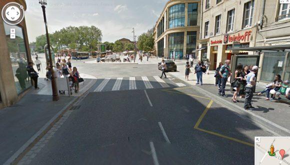 Rue du Coëtlosquet (Google Street View)