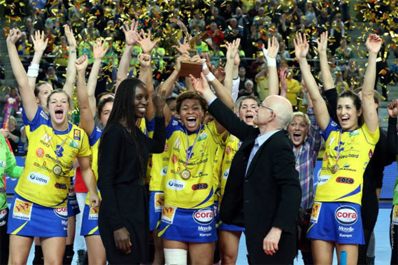 Metz Handball remporte la Coupe de la Ligue