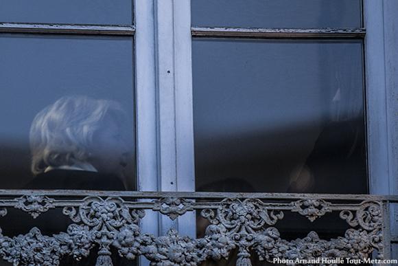 Marie-Jo Zimmermann enfermée au premier étage de son local de campagne