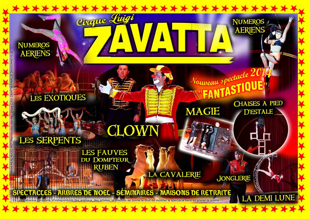 Lever de rideau sur le cirque Luigi Zavatta à Moulins-lès-Metz