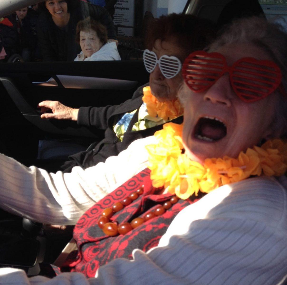 Metz : les coulisses du tournage de «Happy» en maison de retraite (photos)