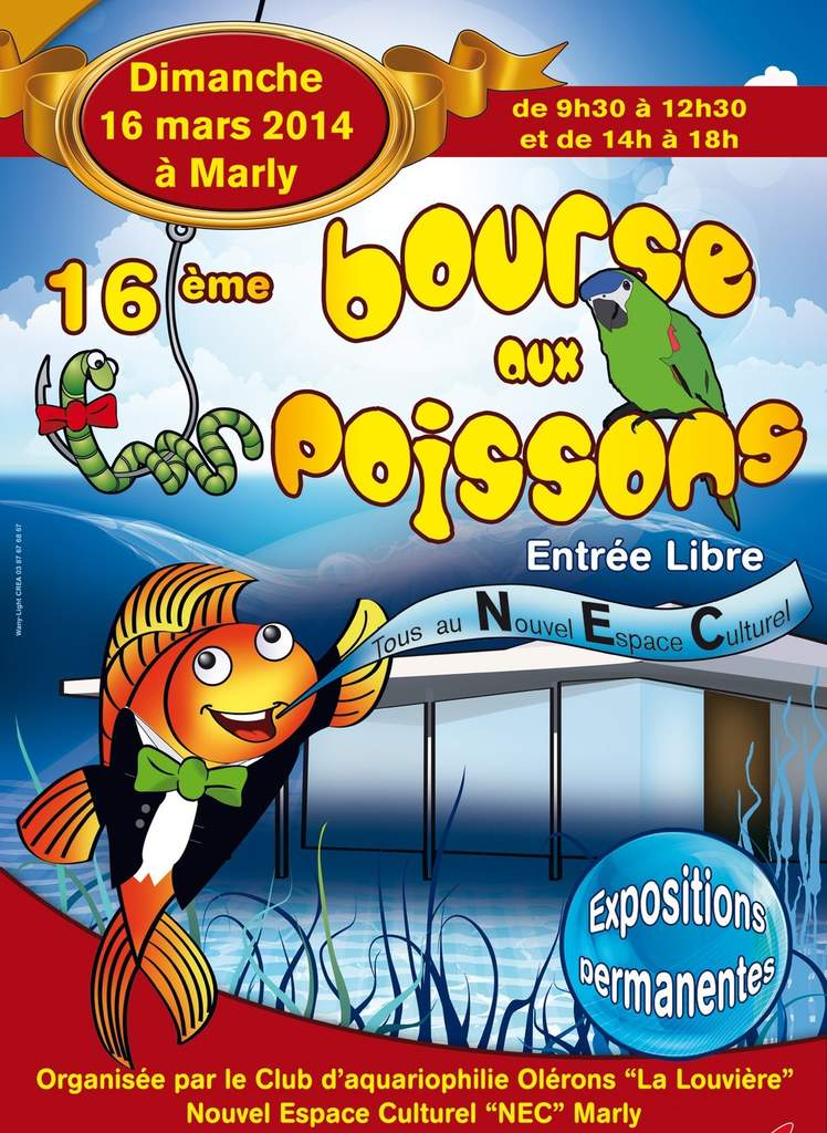 Marly organise sa bourse aux poissons