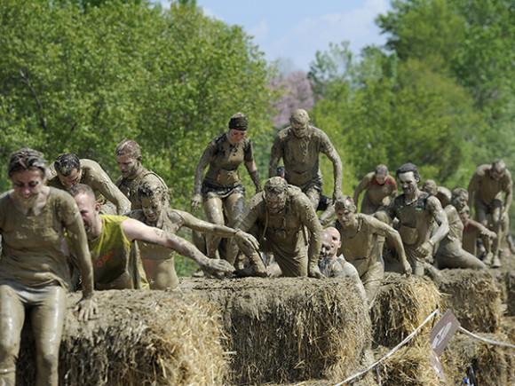 Photo Prise lors du Mud Day 2014 - Copyright :Mud Day