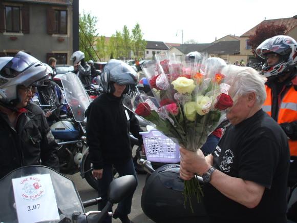Derrière leurs blousons de cuir, les motards ont du cœur.