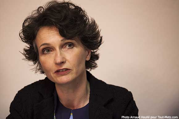 Françoise Grolet, candidate à la présidence de Metz Métropole