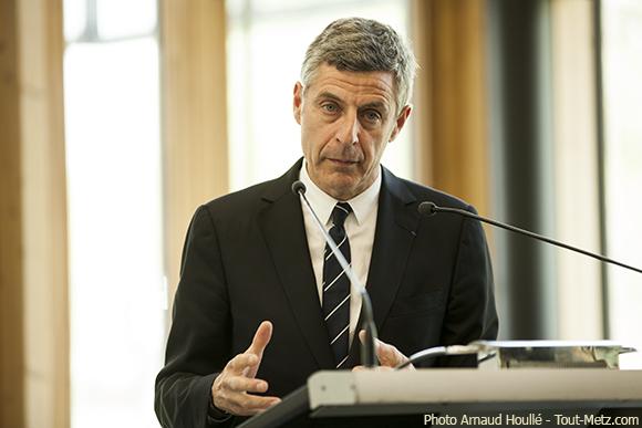 Jean-Luc Bohl réélu président de Metz Métropole