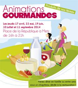 Animations gourmandes annulées à Metz ce jeudi