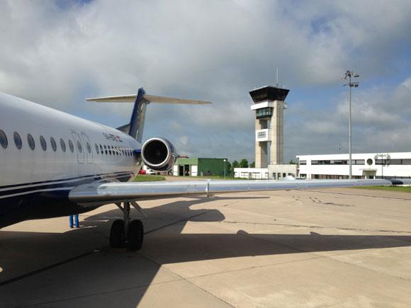 Photo de L'aéroport Metz Nancy évacué