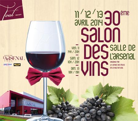 Libérez vos papilles au Salon des Vins de France à Toul