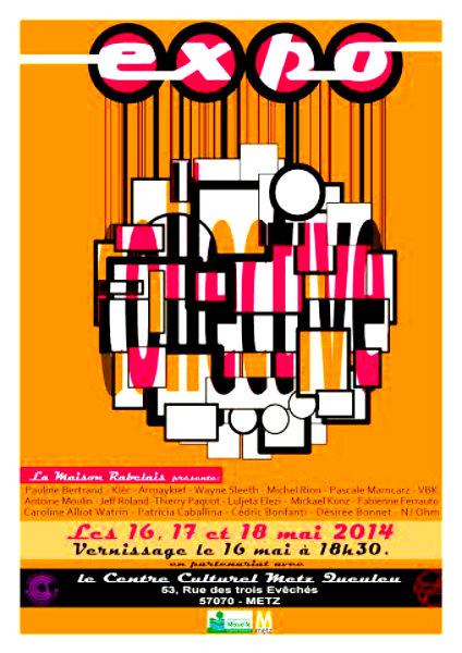 «Expo collective» à Metz : l'art régional avant tout