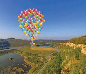 Sapeurs-Pompiers de Moselle : 1 258 ballons lâchés pour les orphelins