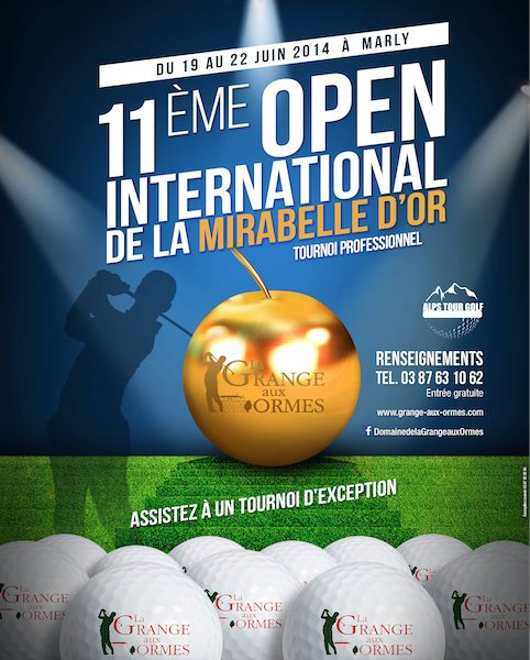 Golf : Open International de la Mirabelle d'Or 2014 à Marly
