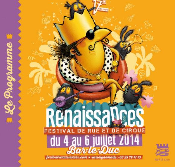 Festival RenaissanceS 2014 à Bar-le-Duc : René Ier à l'honneur