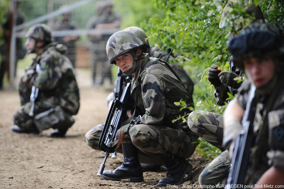 Opération Griffon : simulation de crise sécuritaire près de Metz (photo reportage)