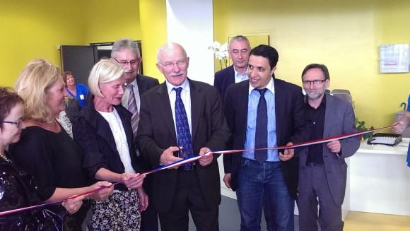 Le Maire de Metz inaugure la Piscine Lothaire - Photo : Tout-Metz.com