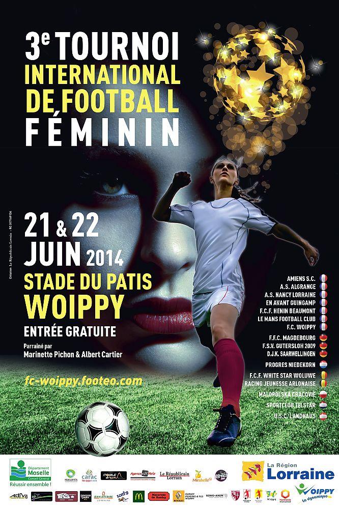 Woippy : tournoi international de football féminin, 3ème édition