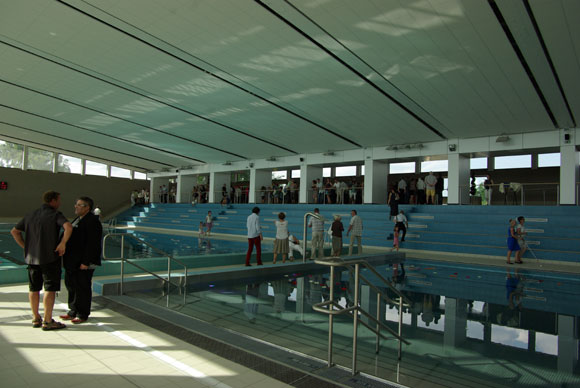 inauguration piscine montigny les metz photos