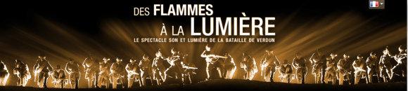 «Des flammes à la lumière» : la bataille de Verdun en son et lumière