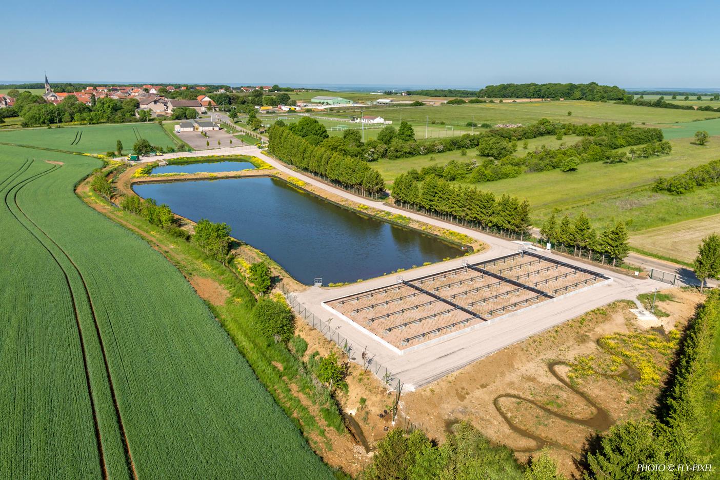 Photo de Vernéville inaugure sa nouvelle lagune d'épuration