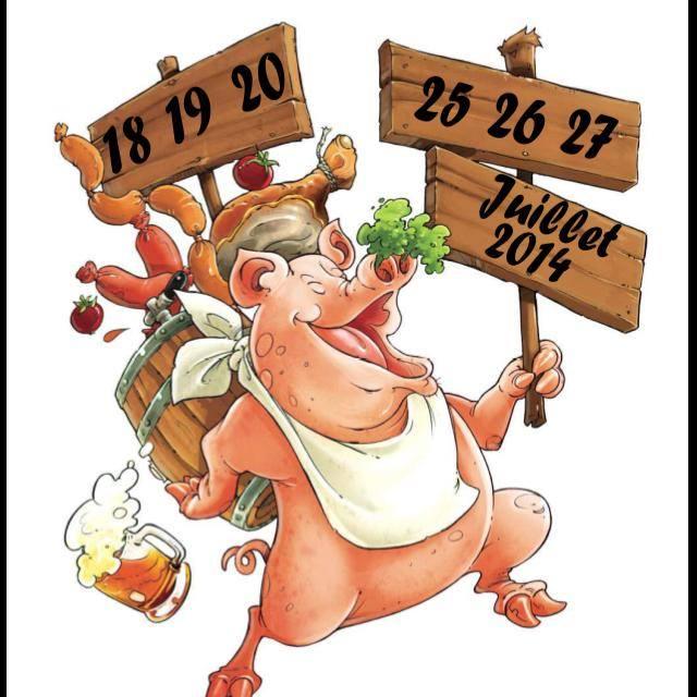 Rendez-vous à la 51ème Fête du Cochon de Bazoncourt